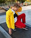 Ветровка мужская желтая Брэддок (Braddock) от бренда ТУР, фото 3