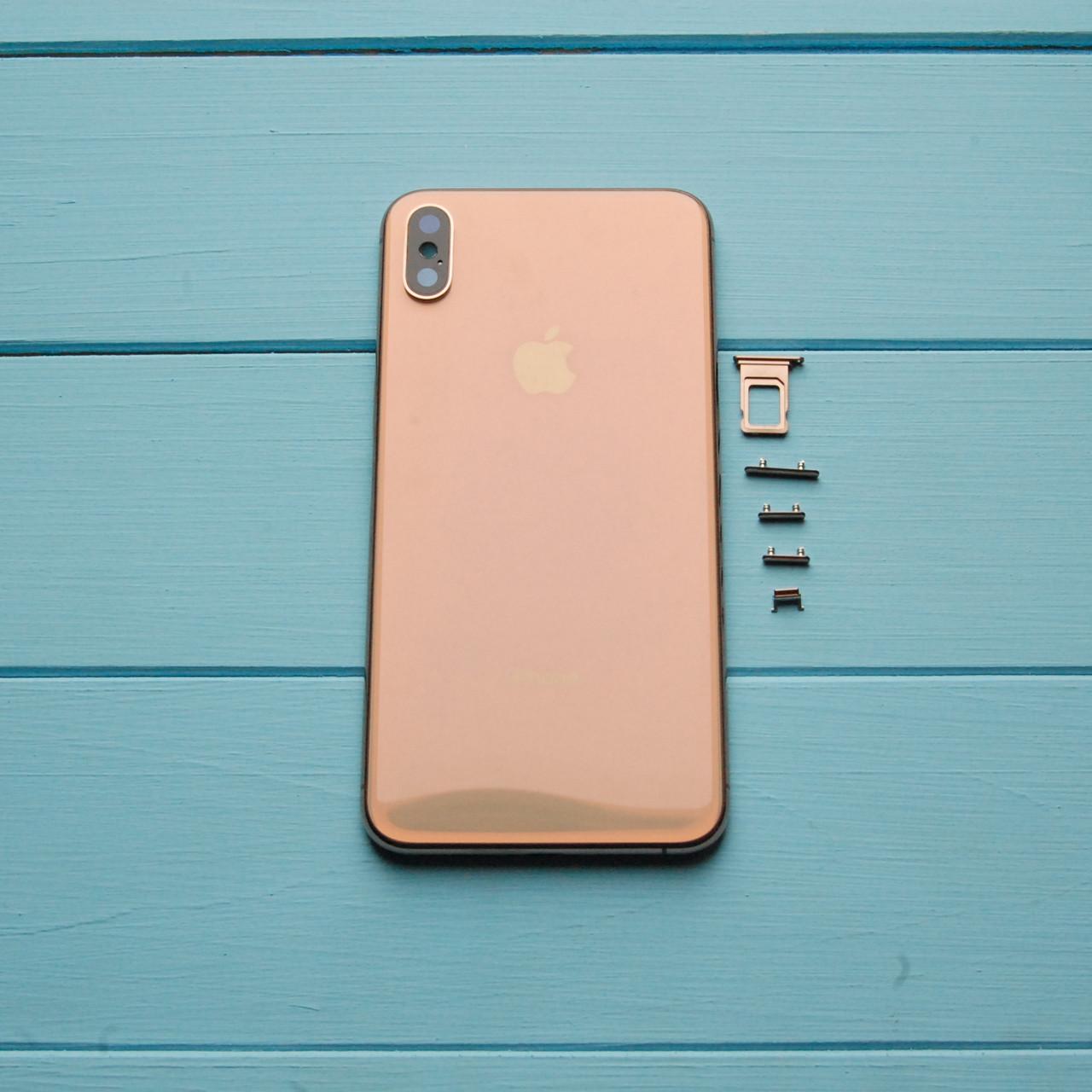 Корпус Apple iPhone XS Max Gold