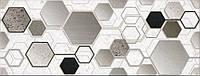 Декор InterCerama Techno серый 23х60