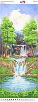 "Пано ""Водопад""  ПМ 4059. Частичная вышивка"
