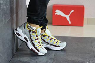 Мужские кроссовки прессованная кожа Endura 8388, фото 2