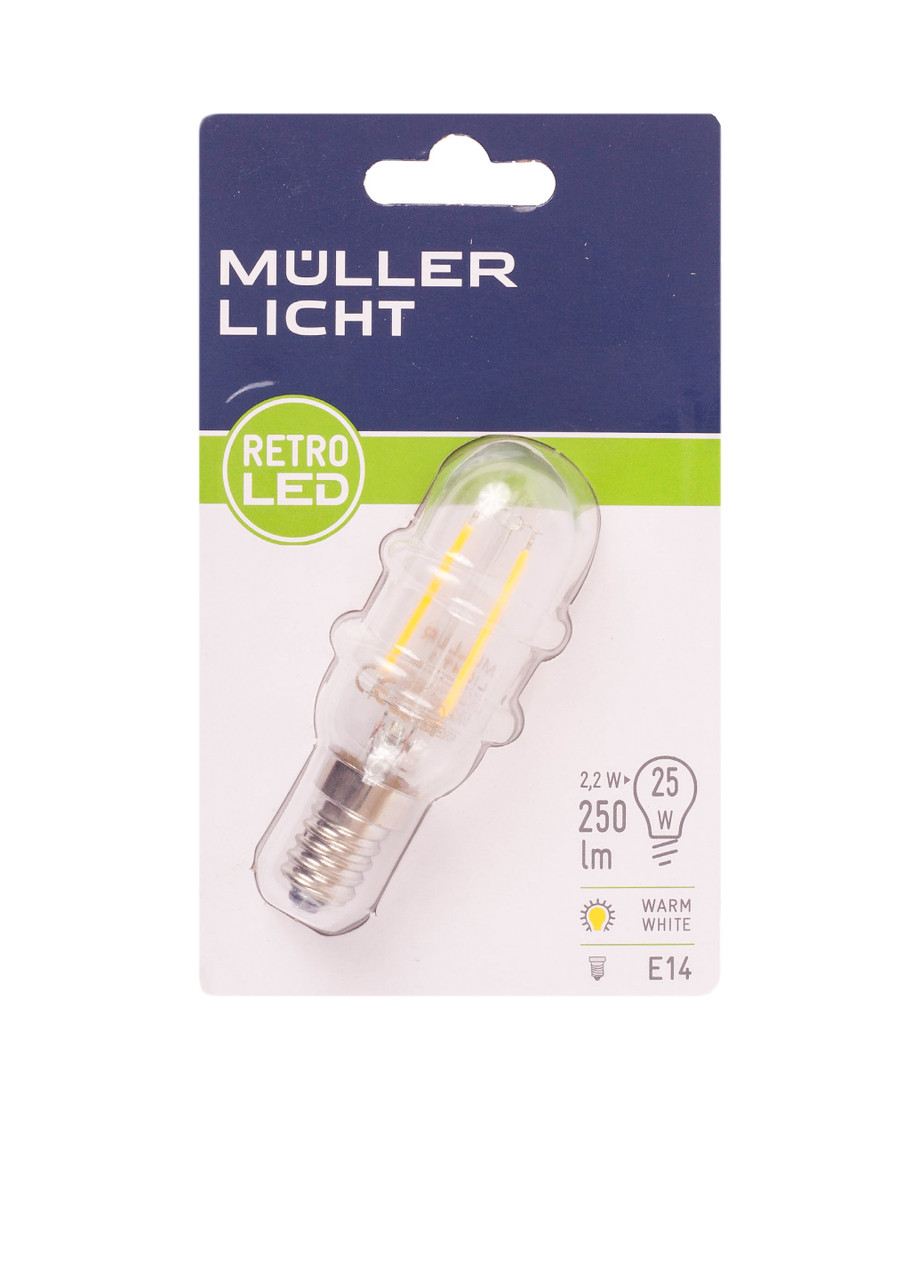 LED лампа Muller Licht E14 2.2w декор