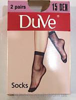 Носки женские эластичные летние Дюна 15 den (в упаковке 2 пары)