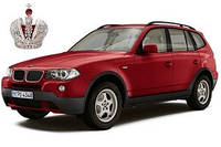 Автостекло, лобовое стекло на BMW (БМВ) X3  (2003 - 2010)