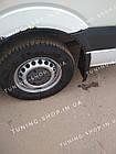 Задние брызговики Mercedes Sprinter W906 2006-2018 однокатковый, фото 3