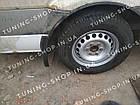Задние брызговики Mercedes Sprinter W906 2006-2018 однокатковый, фото 2