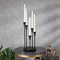 Подсвечник Doreline черный на 5 свечей, фото 1