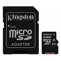 Карта памяти Kingston 64GB microSDXC class 10 UHS-I Canvas Select (SDCS/64GB)