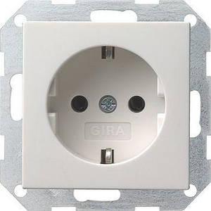 Gira 018803. Розетка с заземляющими контактами System 55