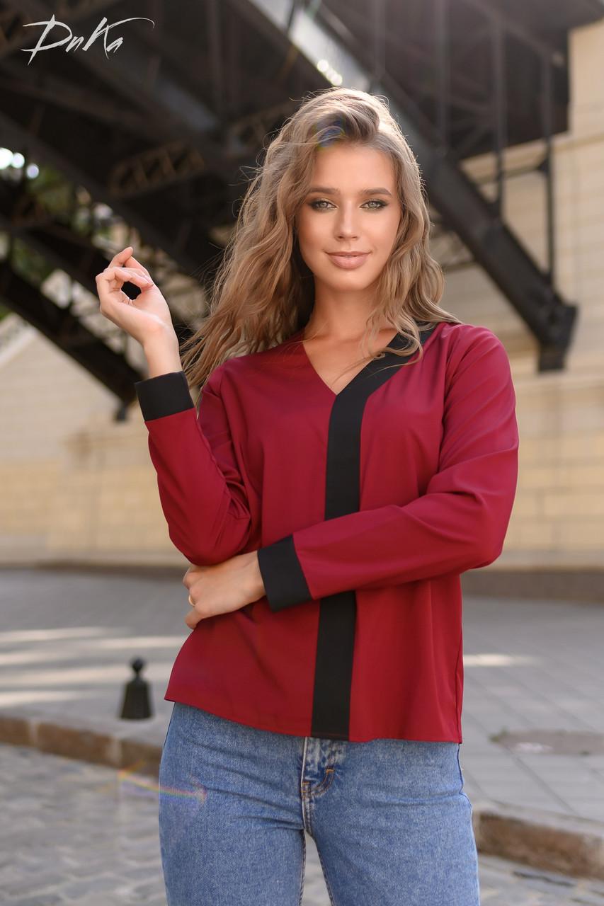 Симпатичная блузка на каждый день