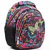 """Подростковый  рюкзак """"Dolly""""  для школы с ярким принтом"""