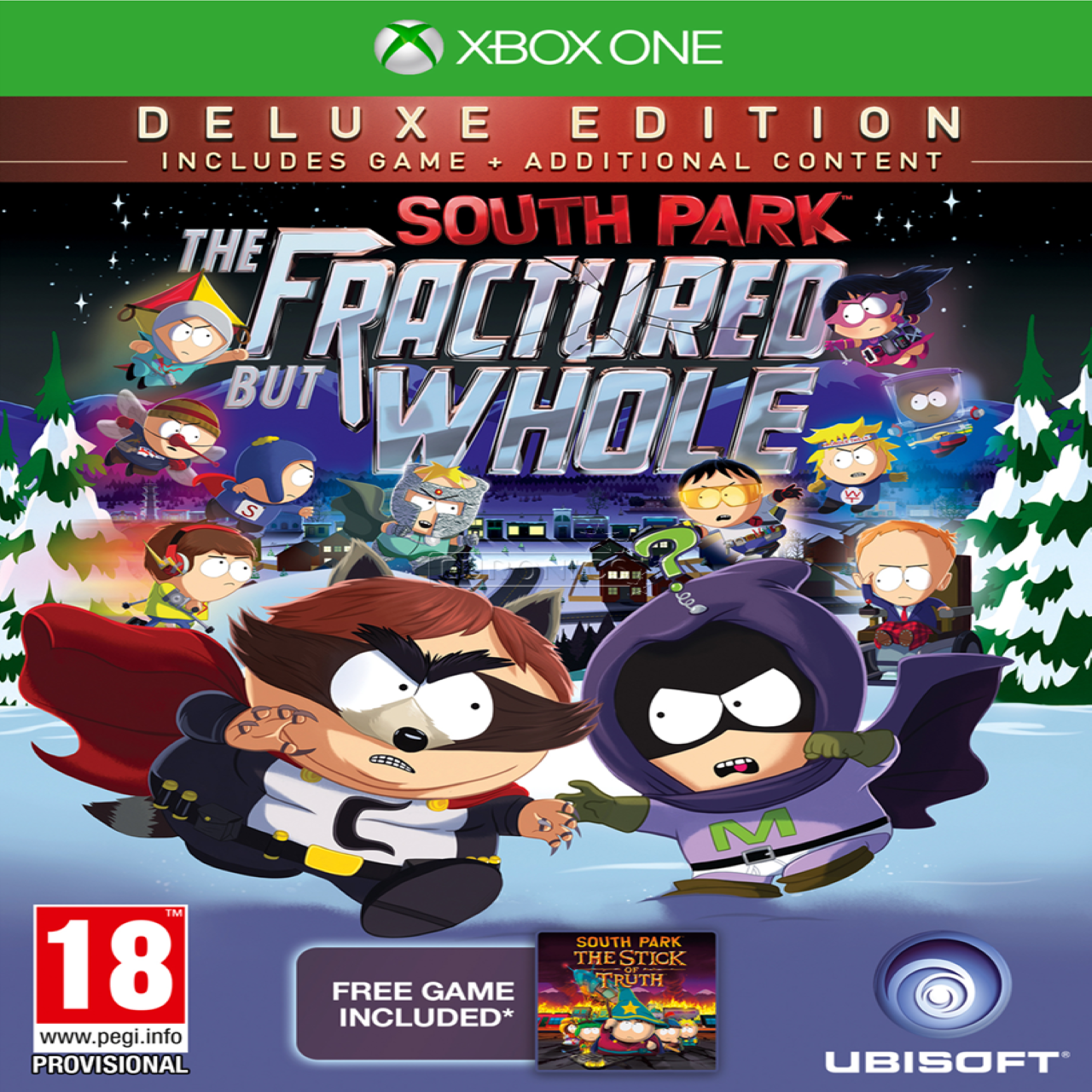 South Park The Fractured But Whole Deluxe Edition SUB Xbox One