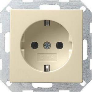 Gira 018801. Розетка с заземляющими контактами System 55