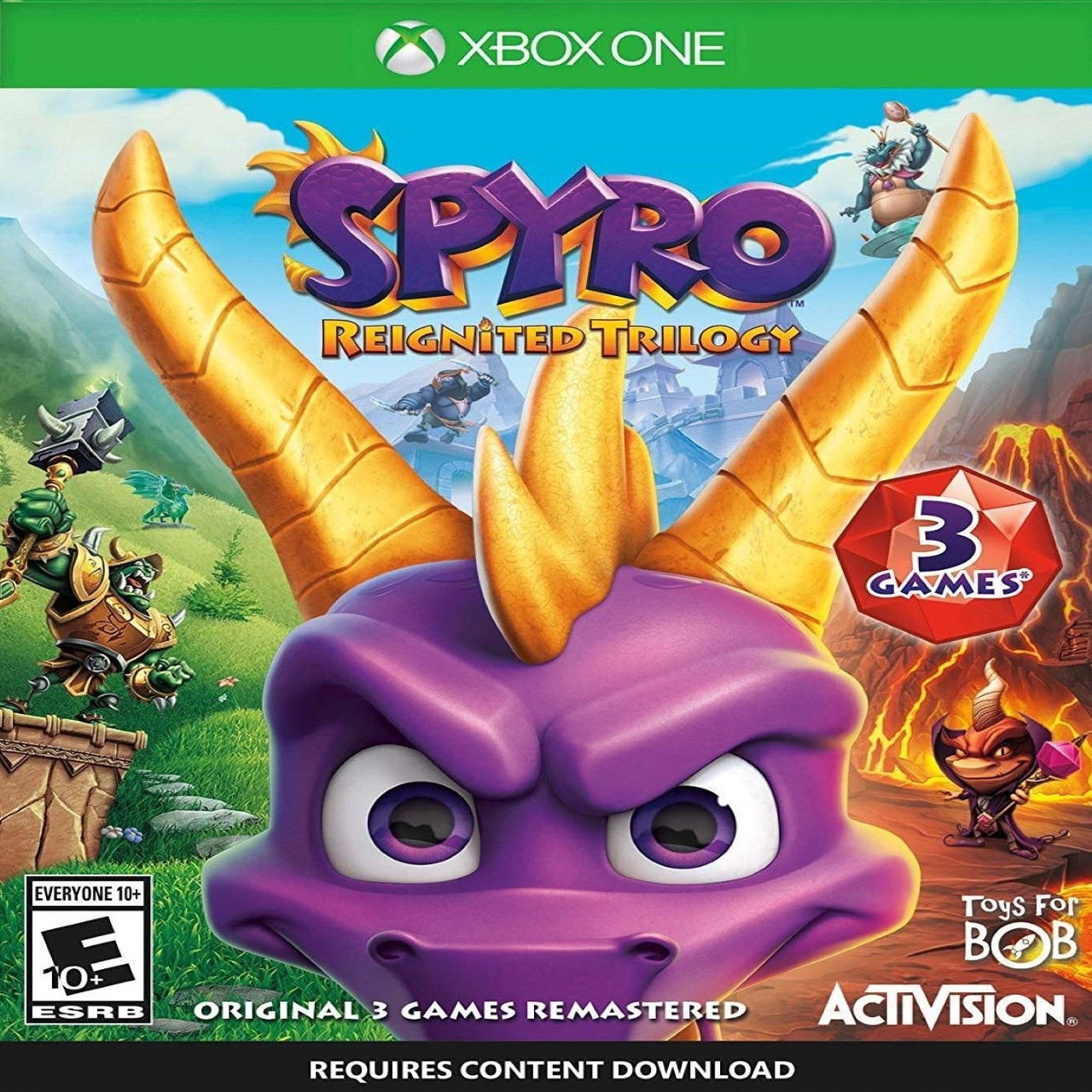 Spyro Reignited Trilogy Xbox One ENG (NEW)