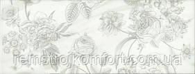Плитка для стены InterCerama Toscana светло-серая рисунок 1 23х60
