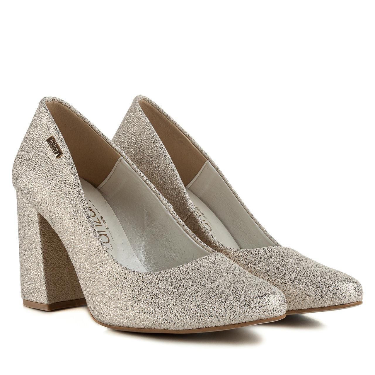 Туфли женские ZANZARA (изысканные, золотистого цвета ...