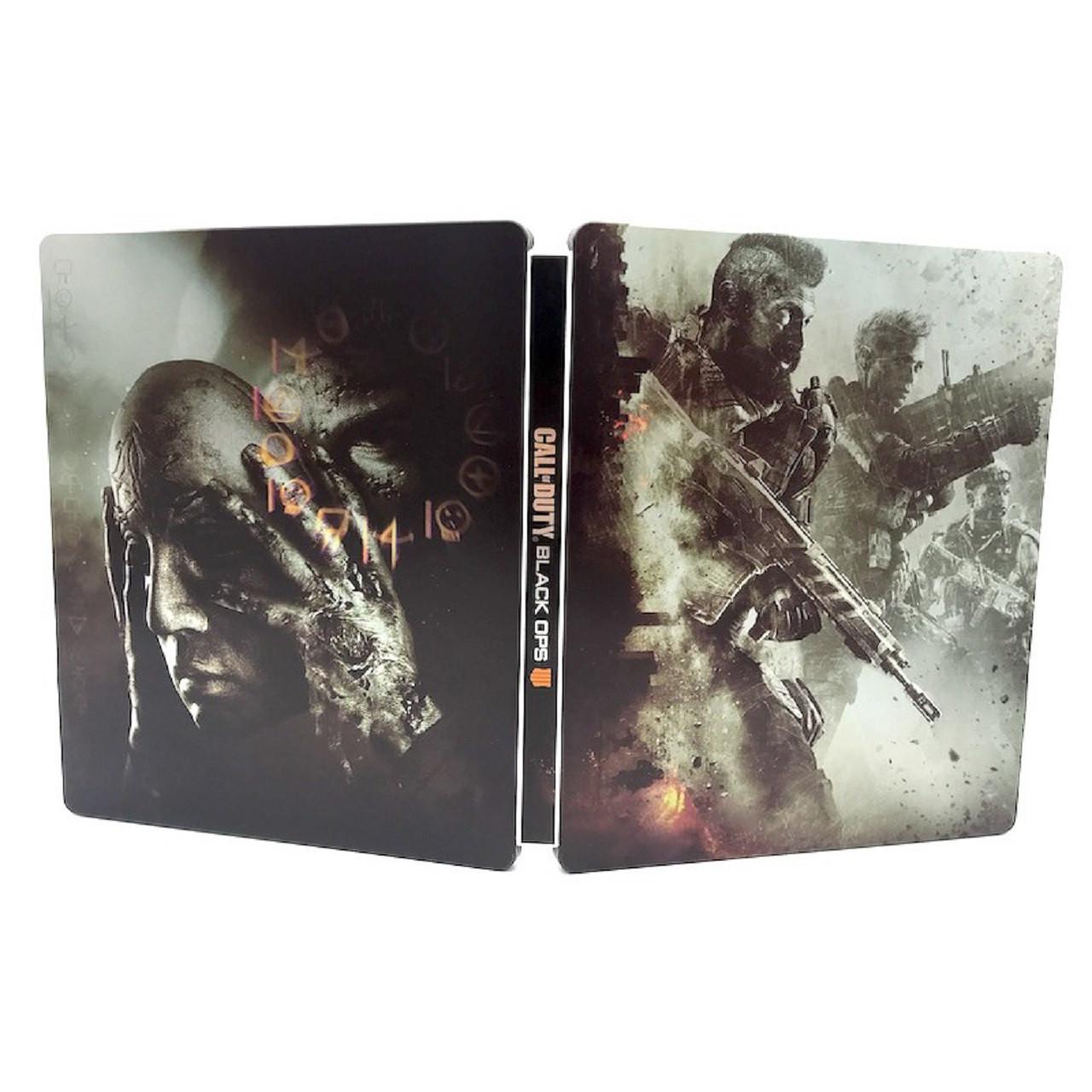 Steelbook Call of Duty Black ops 4  PS4/XBOX (БЕЗ ГРИ)