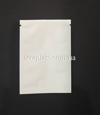 Пакет саше  белый 70х100 без зип, фото 2