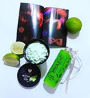 Баттер Мусс с ароматом Лайма & гиалуроновой кислотой - воздушный крем для лица и тела