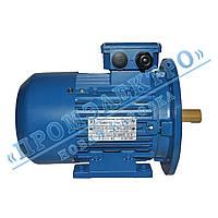 Электродвигатель трехфазный 1,1кВт 1000об/мин АИР 80B6 (IM 2081) Лапа+фланец