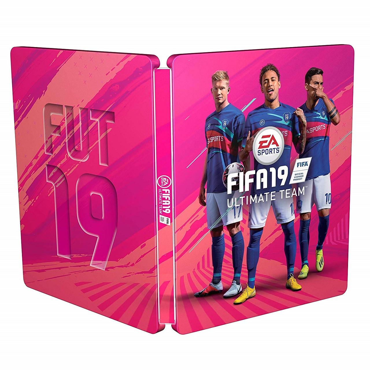 Steelbook FIFA 19  PS4/XBOX (БЕЗ ГРИ)