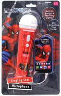 """Игрушечный микрофон """"Spiderman"""""""