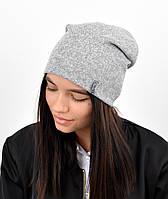 """Подростковая шапка """"Лаура"""" двойная, фото 1"""
