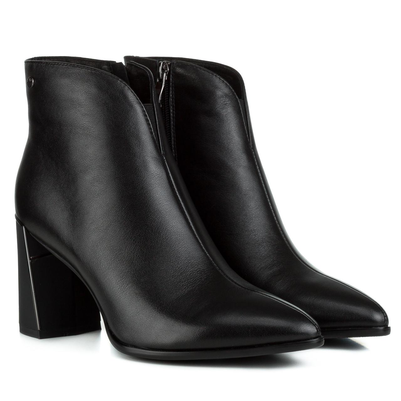 Ботильоны женские LADY MARCIA (на устойчивом каблуке, изысканные, с зауженным носком)