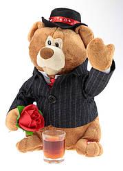 """Медведь с цветком поющий и танцующий """"выйду на улицу.."""""""