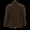 Мужская флисовая куртка NORTH MEN, черный шоколад, SOLS, размеры от XS до 3XL, фото 3
