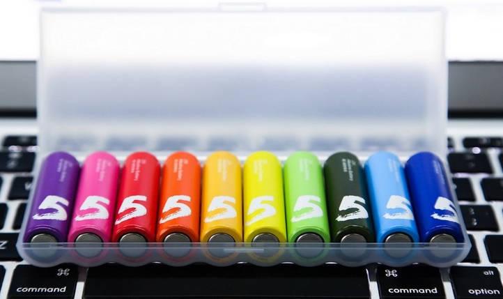 Батарейка HOCO Rainbow AA (10шт), фото 2