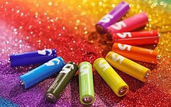 Батарейка HOCO Rainbow AA (10шт), фото 3