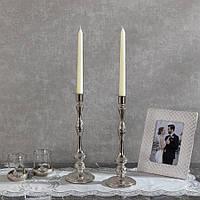 Подсвечник Doreline серебристый на 1 свечу, фото 1