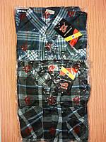 Рубашки мужские на пуговицах флис в клетку теплые р-р от 54,56,58. От 5шт по 105грн.