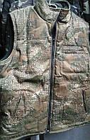 Жилетка камуфляжная осень - зима, флисовая, 46 - 60 р