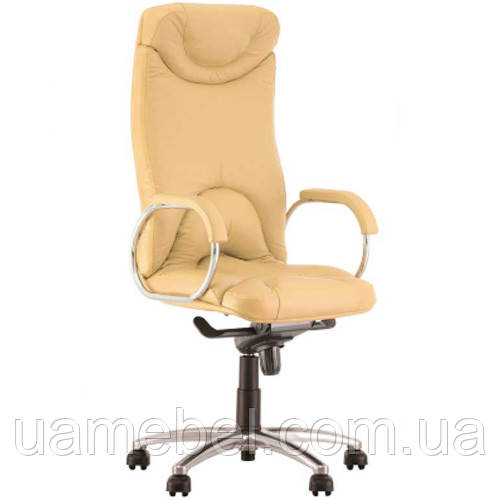 Крісло для керівника ELF (ЕЛЬФ) STEEL CHROME