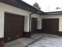 Ворота 2750х2250 гаражні M-гофр Woodgrain/Decocolor Hormann, фото 1