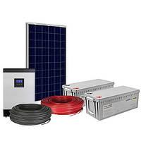 Автономна сонячна електростанція на 3 квт