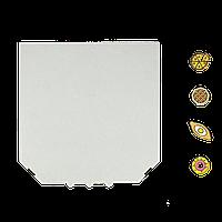 Коробка для пиццы, 25 см белая, 250*250*35, мм (1уп/50шт)