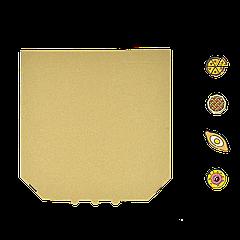 Коробка для пиццы, 25 см бурая, 250*250*35, мм (1уп/50шт)