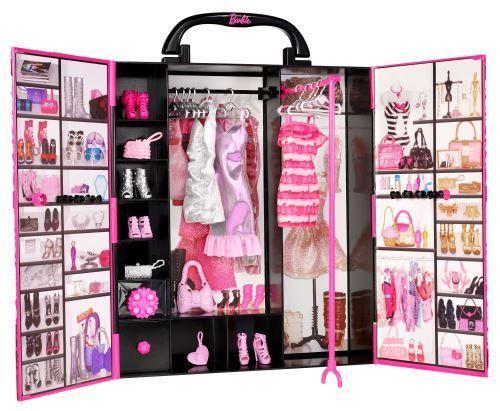 Игровой набор шкаф-чемодан для Барби