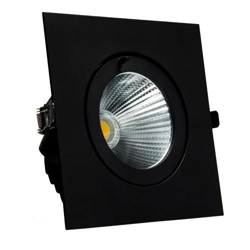 Встраиваемый LED светильник VL-XP02F 30W черный 40°