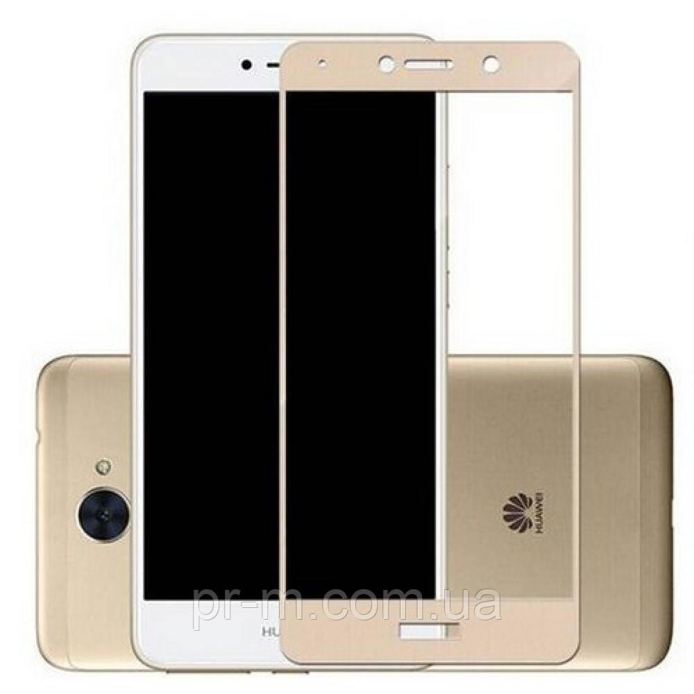 Защитное стекло Full Cover Huawei Nova Lite, Gold