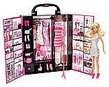 Игровой набор шкаф-чемодан для Барби, фото 2