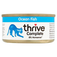 Thrive Complete Ocean Fish for Cats - Трайв Полнорац Консервир Вологий Корм для Кішок Океан Риба 75г