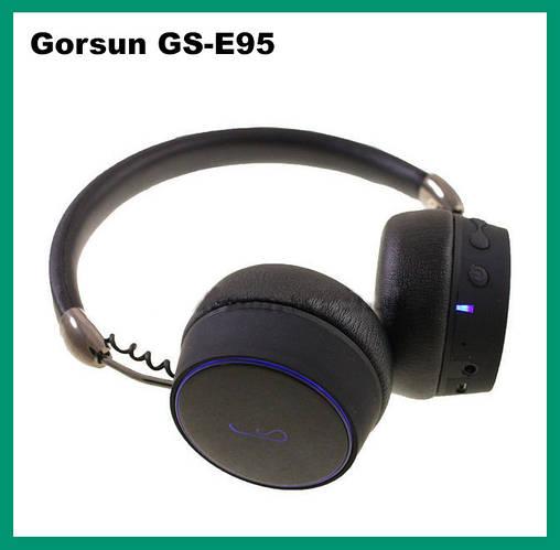 Наушники беспроводные Bluetooth Gorsun E95 Black