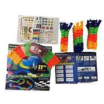 Magic Tracks гнущий светящийся трек 220 деталей, Гоночный трек игрушка, конструктор - подарок для детей, фото 2
