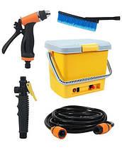 Портативная автомобильная мойка душ от прикуривателя High Pressure Portable Car Washer | минимойка для авто, фото 2