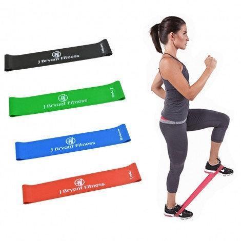 Фитнес резинки 5 шт, петли сопротивления Fit Simplify, CrossFit, EsonStyle