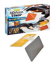 Антибликовый козырек для авто HD Vision Visor Козырек солнцезащитный для автомобиля, фото 2